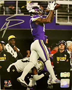 Stefon Diggs Autographed/Signed Minnesota Vikings 8X10 NFL