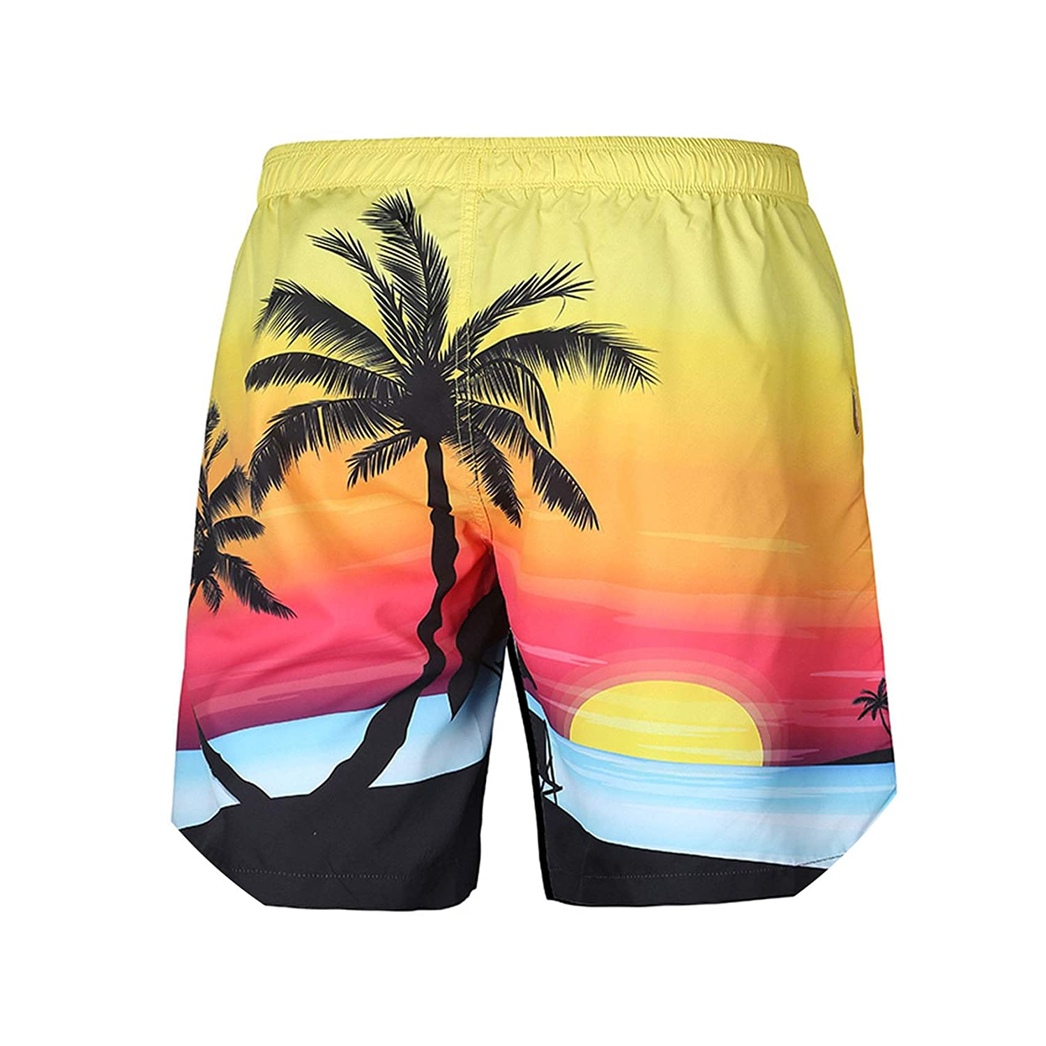 Yanlian1 2019 New Summer Swim New Mens Board Shorts Beach Shorts Surfing Marca Men Boardshorts