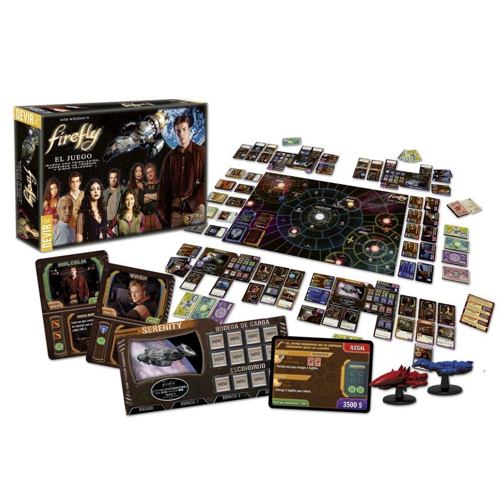 Devir - Firefly, Juego de Mesa (221633)