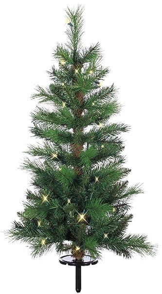 Amazon.com: 3 Foot High Mixed Pine Outdoor Christmas Pathway Tree ...