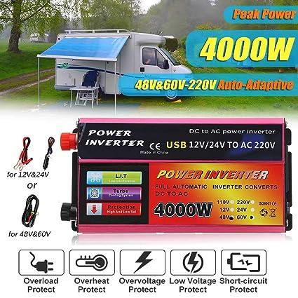 Truck Trade In Value >> Value Trade Inc Kroar 1200w Power Inverter 48 60v To 220v