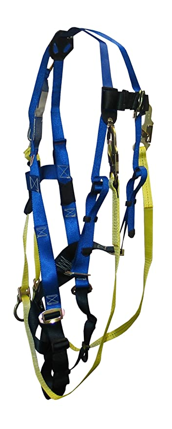 FallTech 70152X Contractor Harness Double Extra Large with 1 D-Ring