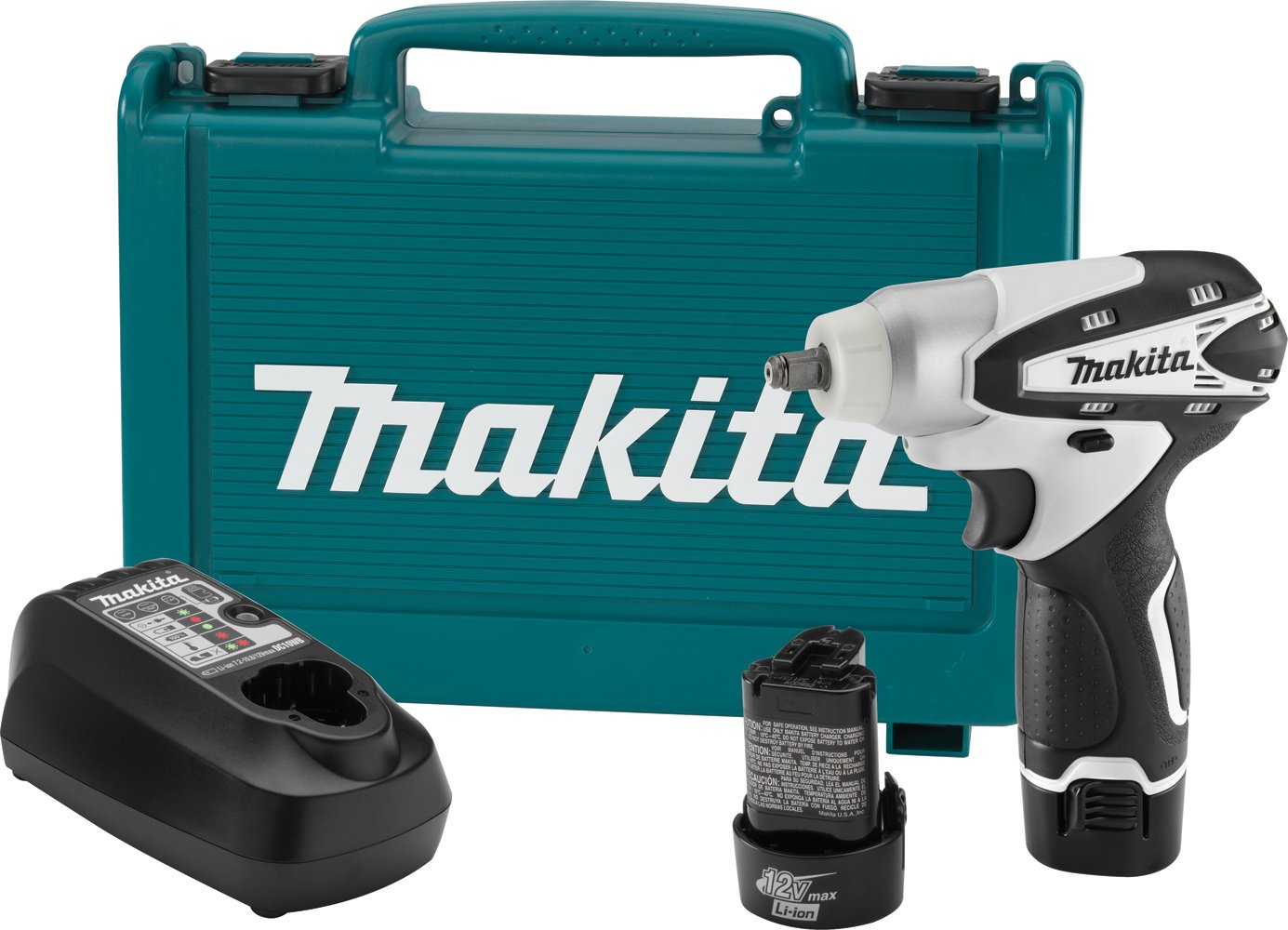 Makita WT01W 12V max Lithium-Ion Cordless 3 8 Inch Impact Wrench Kit Discontinued by Manufacturer