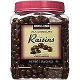 Kirkland Signature Milk Chocolate, Raisins 1.5 kilogram