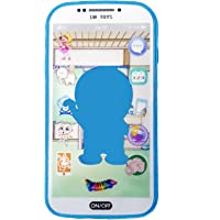 Emob 3D Digital Smart Mobile Phone with Touch Screen Feature, Amazing Sound and Light Toy for Best Gift for Kids (Multicolor)