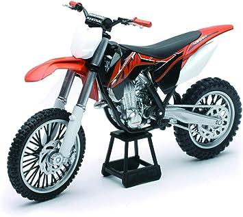 Newray 57623 Modell Cross Motorrad Ktm 450 Sx F 1 10 Spielzeug