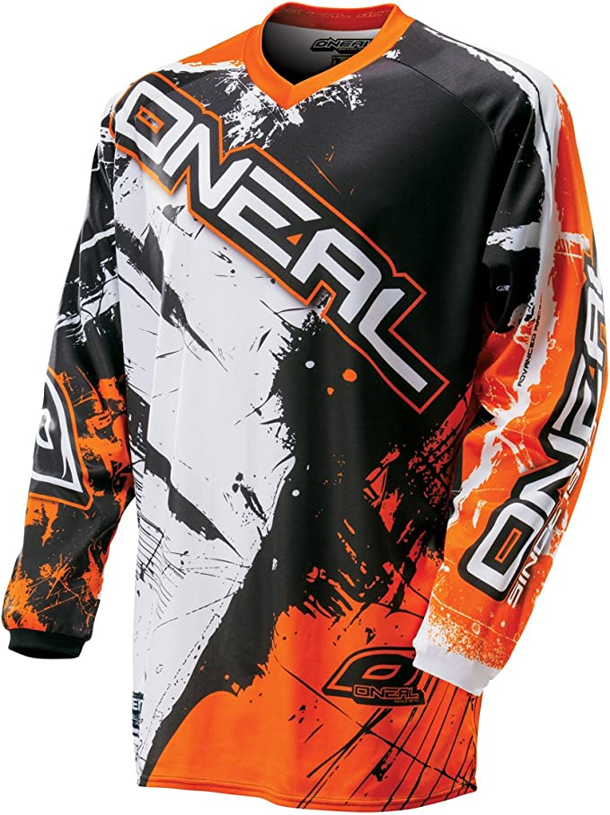 O Neal Herren Jersey Element Shocker Orange Bekleidung