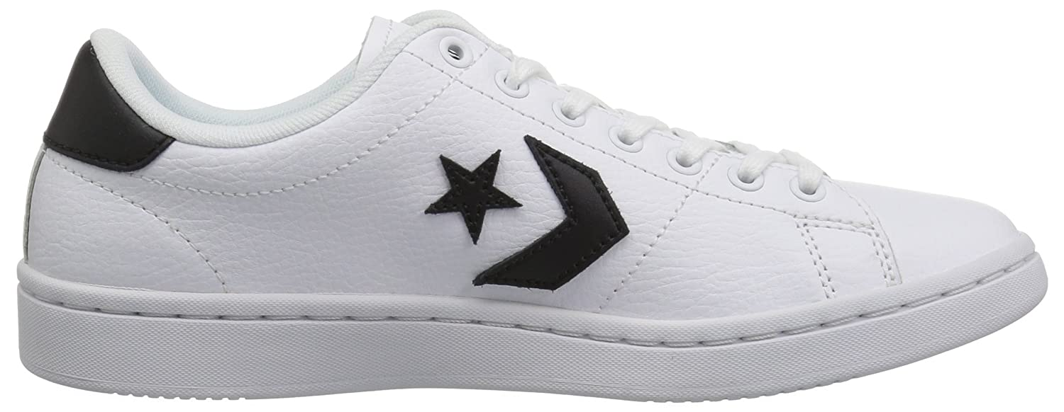 Converse Women's All-Court Low Top Sneaker B07CR8VJS2 9.5 B(M) US|White/Black/White