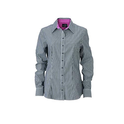 JAMES & NICHOLSON – Camisas – Básico – Manga Larga – para mujer