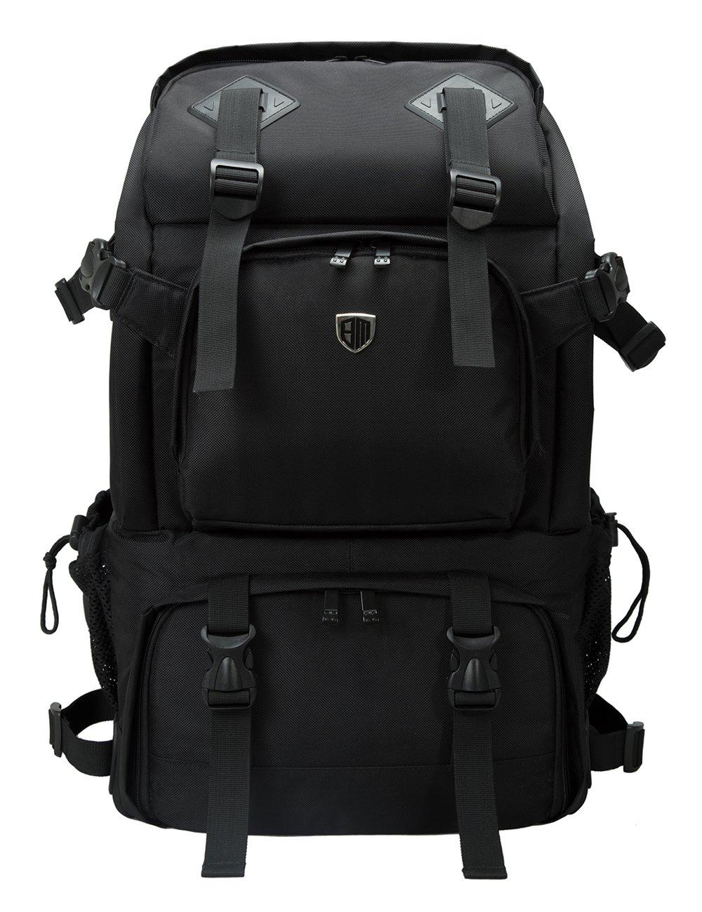 bd2274c9dba4 Amazon.com   BAGSMART Anti-Theft Professional Gear Backpack for SLR DSLR  Cameras   15
