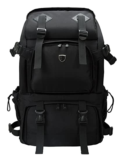 13a476efaa5 Amazon.com : BAGSMART Anti-Theft Professional Gear Backpack for SLR/DSLR  Cameras & 15