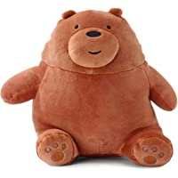 We Bare Bears Sitting Grizzly Bear Plush 20 cm