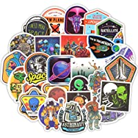 Waterproof Space Vinyl Decals Laptop Stickers Bomb Tablet Headset Skateboard Luggage ect.(30 Pcs/Pack)