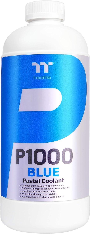 Thermaltake P1000 1000ml New Formula Blue Pastel Coolant Anti-Corrosion Anti-Freeze Minimize Airlock CL-W246-OS00BU-A
