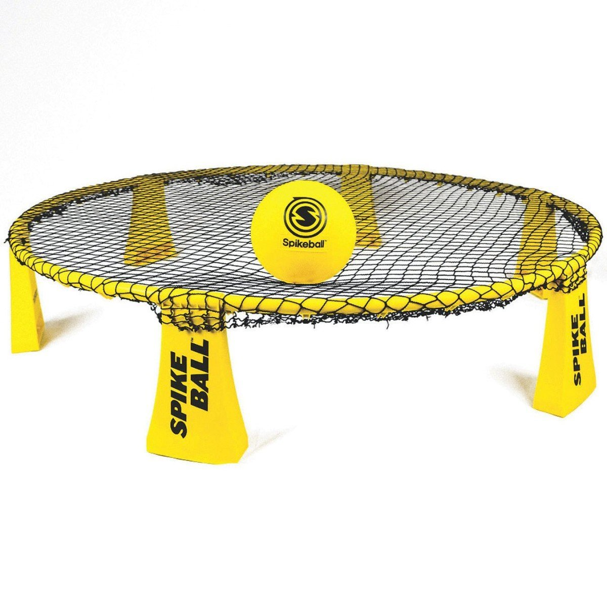 Spikeball Rookie Kit - 50% Larger Net and Ball - Played Outdoors, Indoors, Yard, Lawn, Beach - Designed for Kids 12 and Under B07D7WVM59