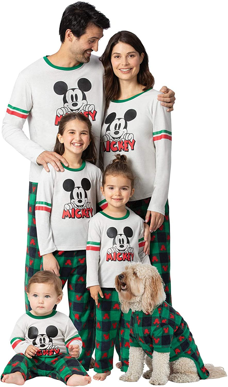 PajamaGram Holiday Mickey Mouse Pajamas Max 56% OFF Elegant Christ Matching Family -