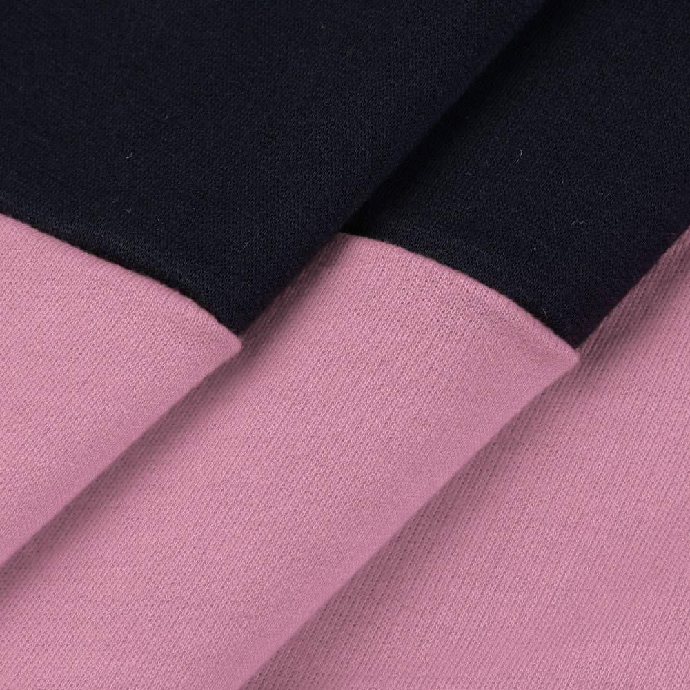 Leey Damen Mode Hoodie mit Zip Langarm Pullover Jumper Pulli Sweatshirt  Jumper Sweatkleid 4 Farben 6a2895374a