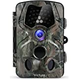 """Victure 【Upgraded】 Trail Game Camera 1080P 12MP Wildlife Hunting Camera with 120 ° Wide Angle, 20m Night Vision Infrared, IP66 Waterproof Design, 2.4"""" LCD Display for Wildlife Surveillance"""