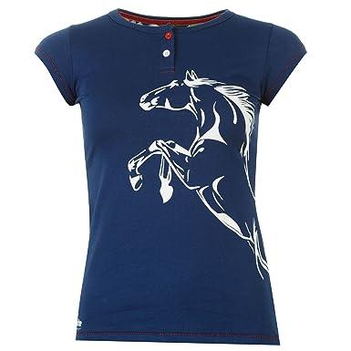 Tee Kurzarm T Rundhals Bluse Reit Requisite Shirt Top Damen v0Nnwm8
