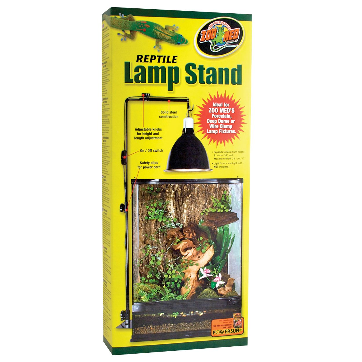 Zoo Med Reptile Lamp Stand, Full Size
