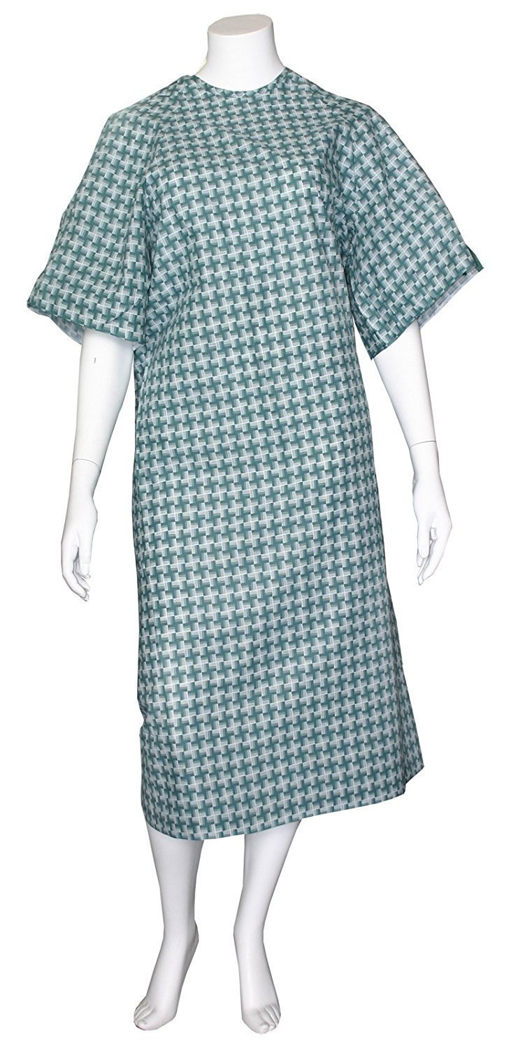 Unisex Illusion Multi Purpose Gown I.V. Sleeves - Pack of 12