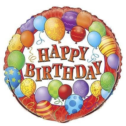 18quot Foil Balloons Happy Birthday Balloon