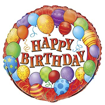 Buy 18 Foil Balloons Happy Birthday Balloon Online At Low Prices In India