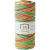 Hemptique Hanf Bunte Kordel Spule 9,1kg 205'-neon, andere, mehrfarbig