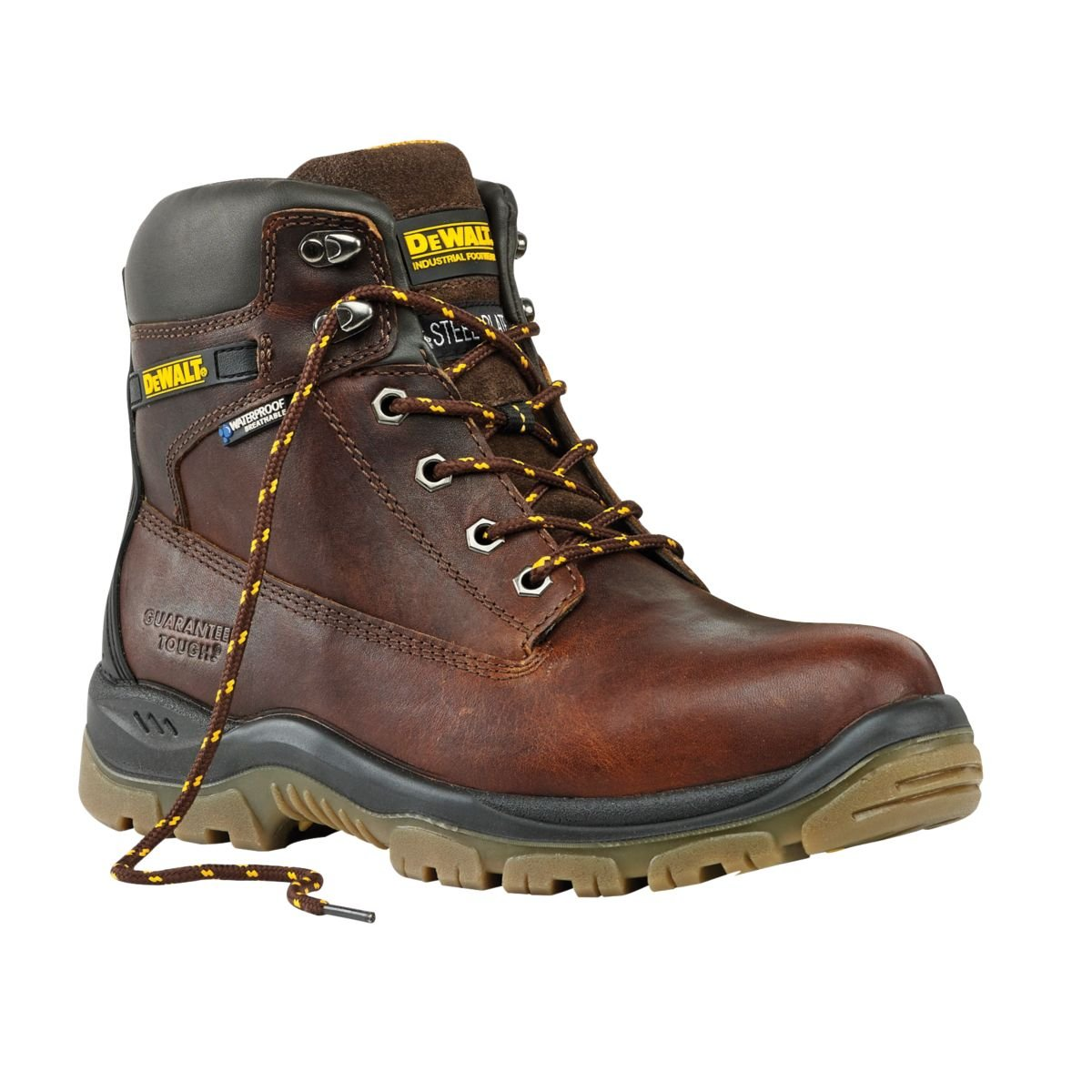 DeWalt Titanium Safety Boots Tan Size 9