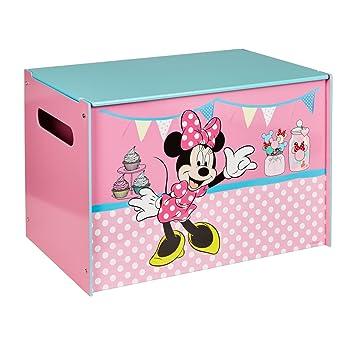 WA Disney Minnie Maus Spielzeugkiste Holz Toy Box Spielebox ...