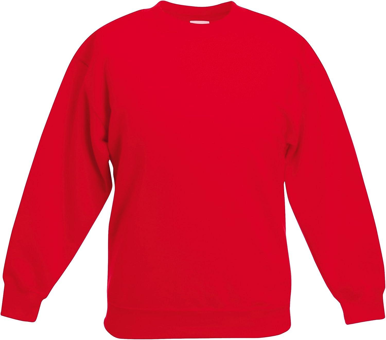 Fruit of the Loom Boys Sweatshirt black black 9-11 Years