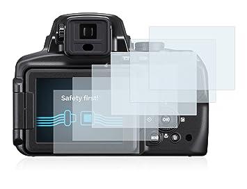 836e1bce43d53 Savvies Protector de Pantalla para Nikon Coolpix P900  6 Unidades    Amazon.es  Electrónica