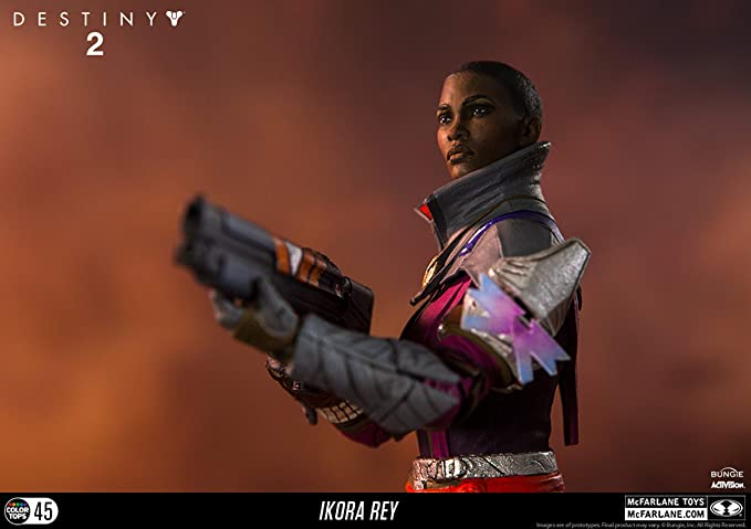 Destiny Ikora Rey  McFarlane No Code