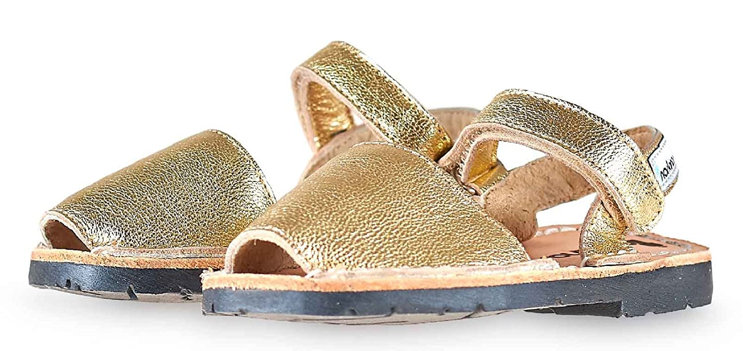 Gold Strap Norkinas Kids Avarca