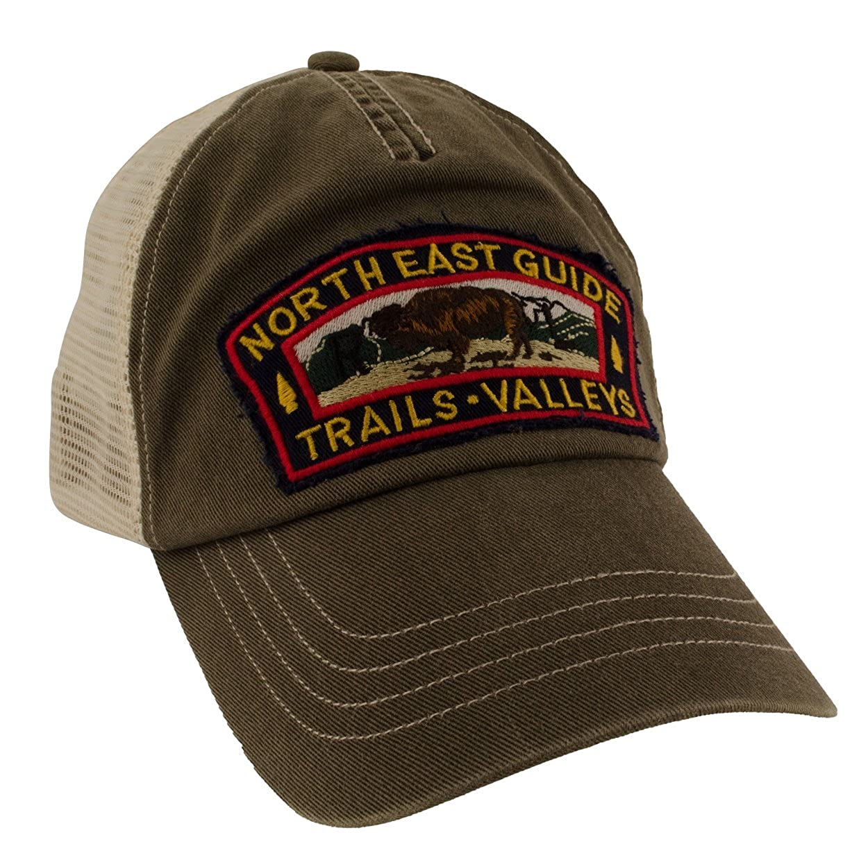 f471ac554 Polo Ralph Lauren Mens Vintage Trucker Baseball Mesh Hat Olive Army ...