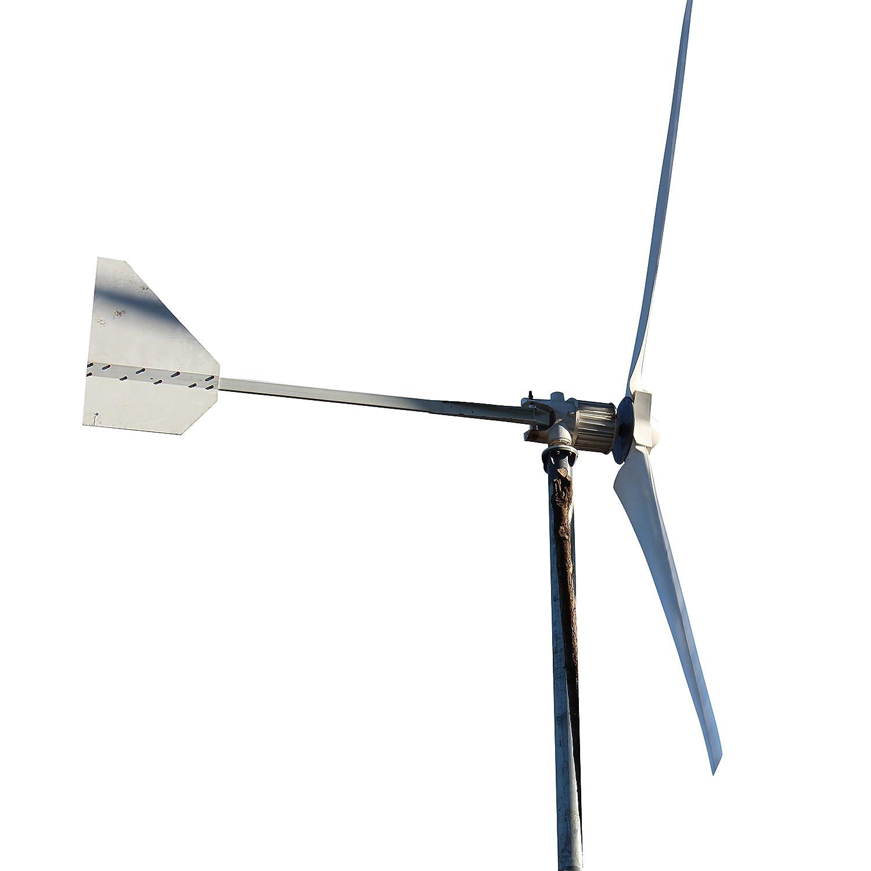 Amazon Tumo Int 5000W 3 Blades Furled Tail Wind Turbine
