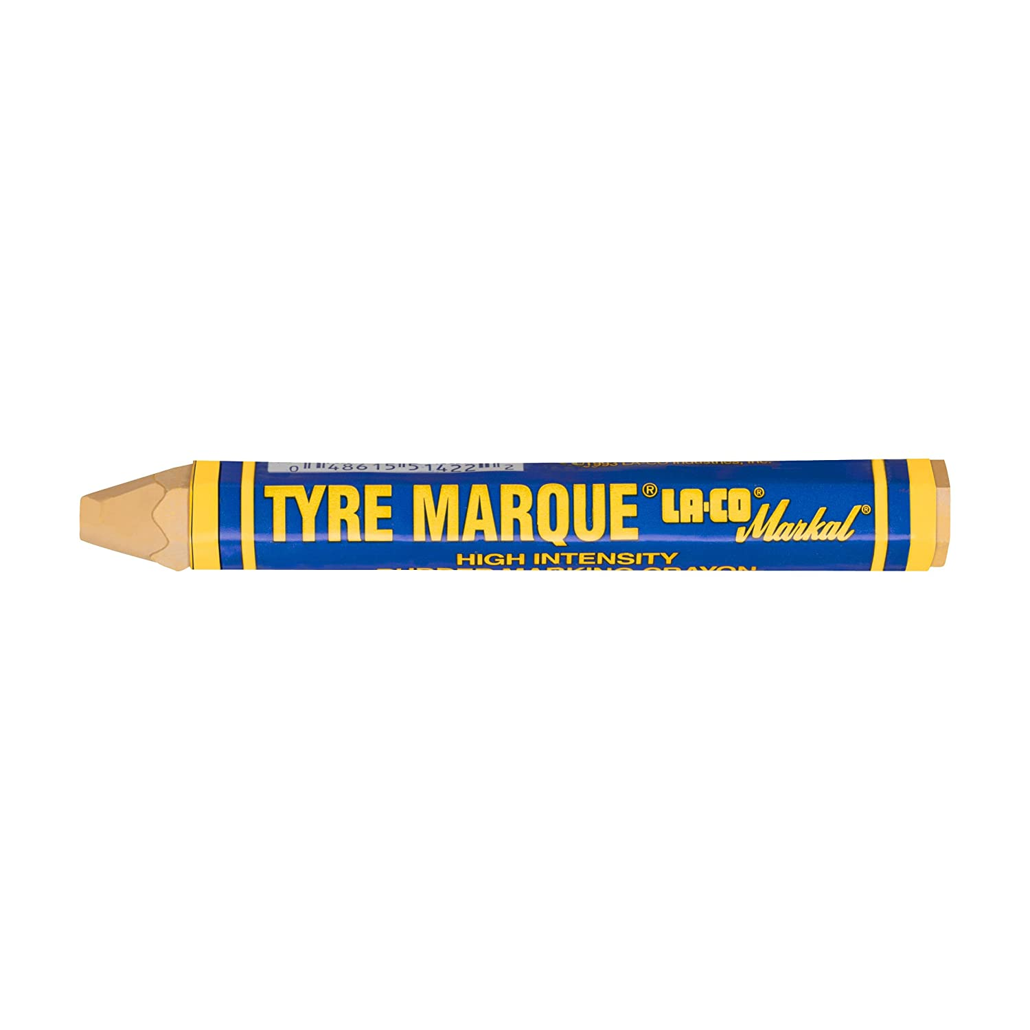 Chalks Car Tyre Marking Crayons 2 x Yellow /& 2 x White Pack of 4