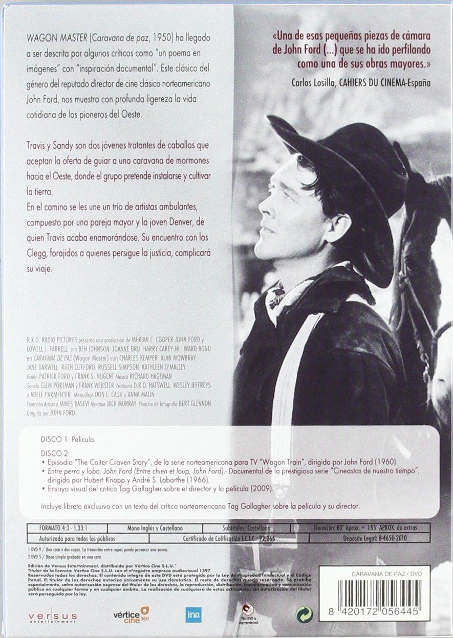 Amazon.com: Caravana De Paz (Ed.Esp.) (Import Movie) (European Format - Zone 2) [1950]: Movies & TV