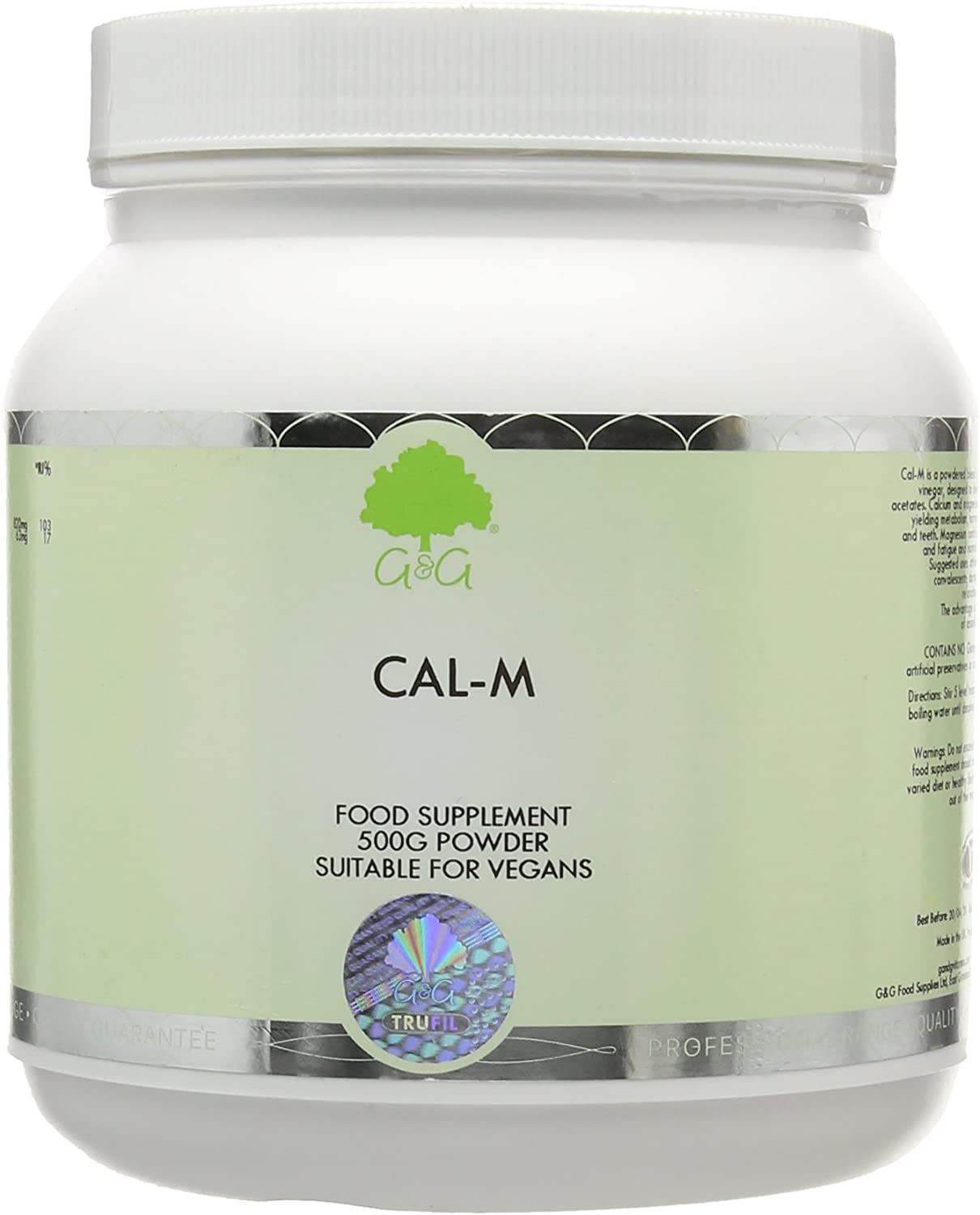 G&G Vitamins 500g Cal-M Powder