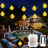 SETIFUNI Battery Operated String Lights,Christmas Lights 50 LED Globe String Lights Set for Christmas Tree Wedding Indoor Out