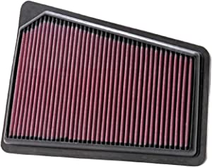 K&N Engine Air Filter: High Performance, Premium, Washable, Replacement Filter: 2009-2011 HYUNDAI (Genesis Sedan), 33-2427