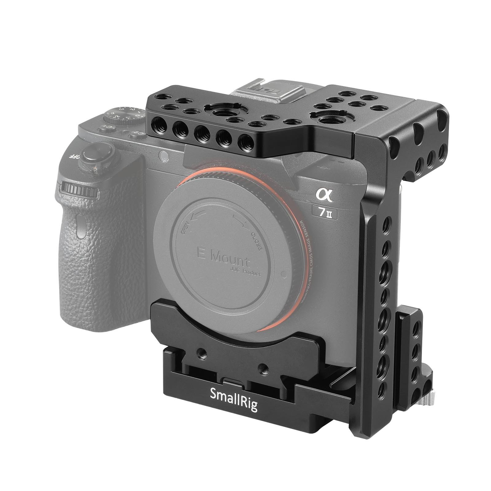SMALLRIG Quick Release Half Cage for Sony A7R III/A7 III/A7 II/A7R II/A7S II - 2098 by SMALLRIG