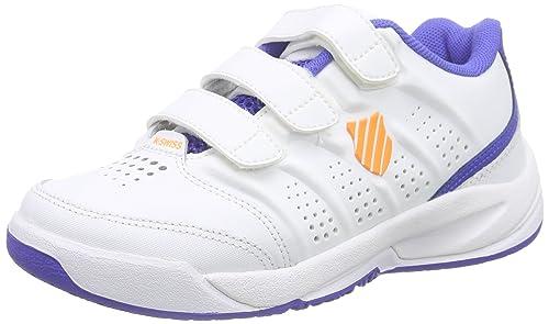 K-Swiss Performance Ultrascendor Omni Strap Jr, Zapatillas de Tenis Unisex Niños: Amazon.es: Zapatos y complementos