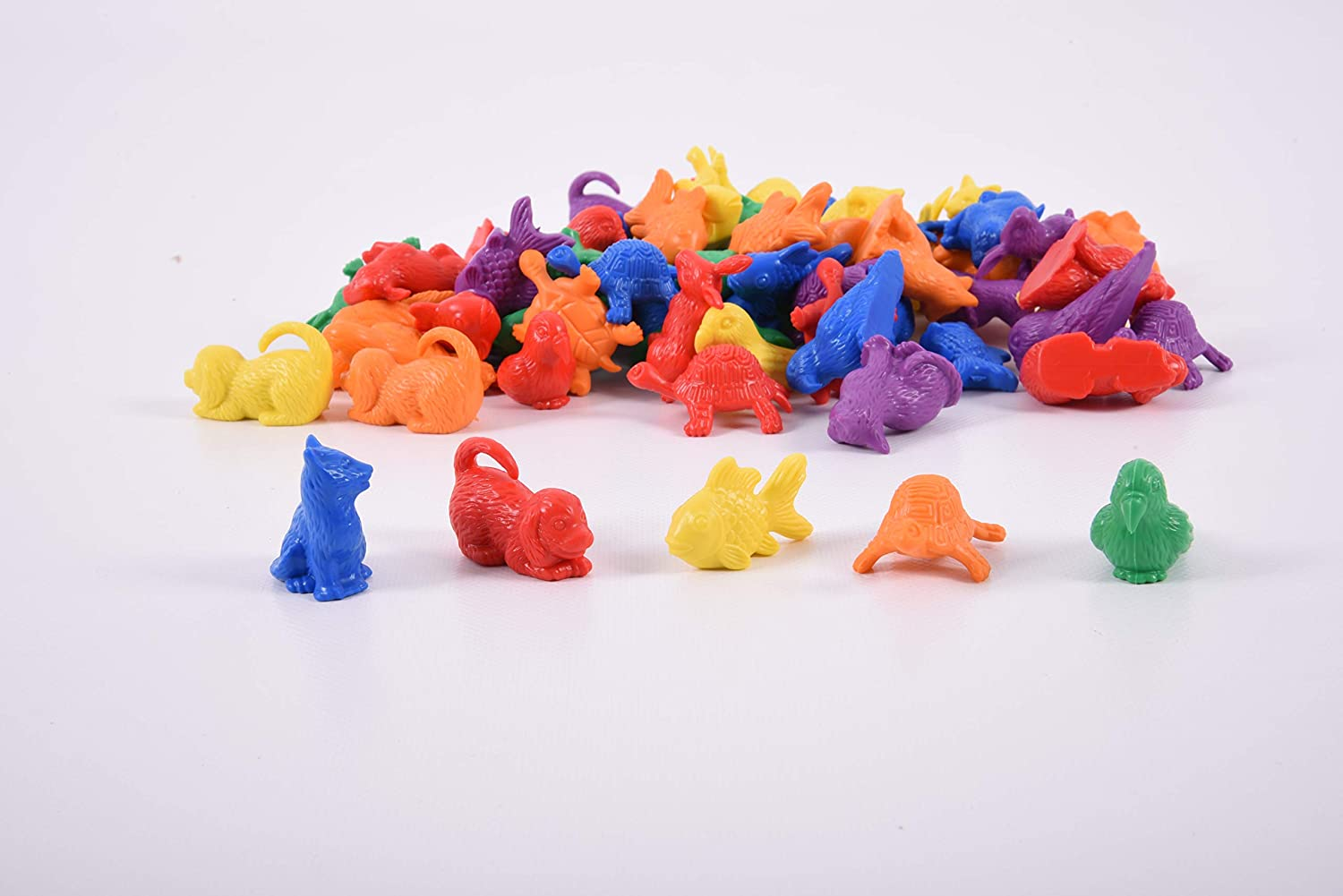 Pack of 72 60 EDX Education 54013 Pet Counter Toy