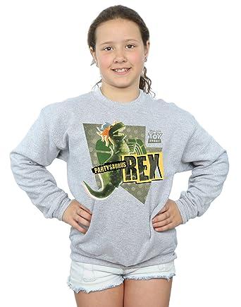 5399290e5f6 Amazon.com  Disney Girls Toy Story Partysaurus Rex Sweatshirt  Clothing