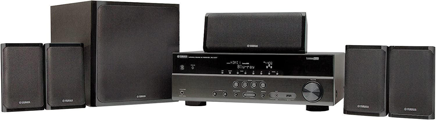 Yamaha YHT-4910UBL 5.1-Channel Home Theater System