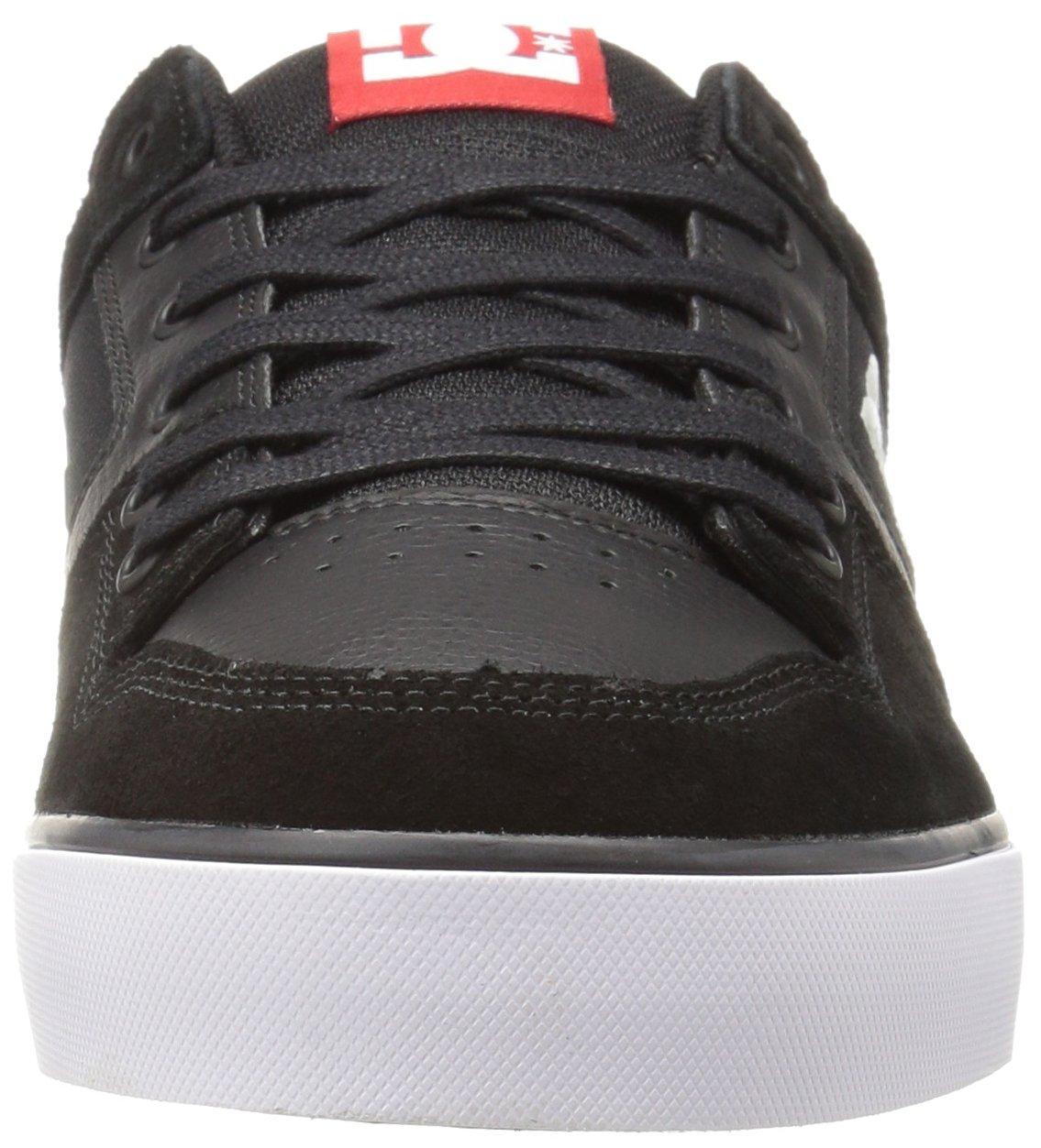 DC Shoes Mens Shoes Pure - Shoes - Men - 9.5 - Black Black/Athletic Red 9.5 by DC (Image #4)