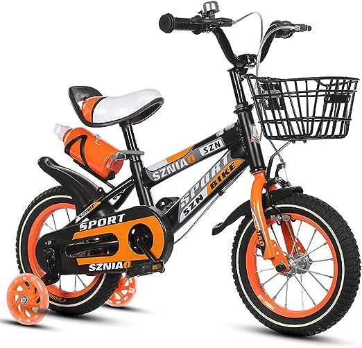 QARYYQ Bicicletas para niños Carro de bebé de 18 Pulgadas para ...