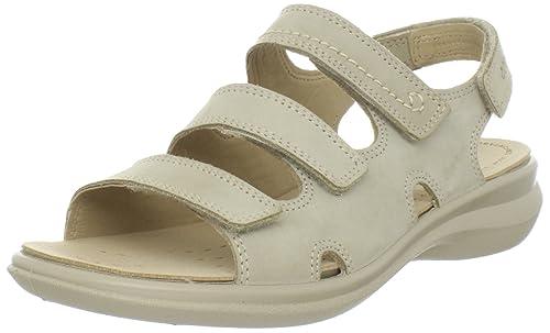 481300fa90d5a Ecco ECCO Breeze Breeze 3 Strap Sandal - Sandalias clásicas de Cuero Nobuck  para Mujer