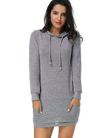 Pull Casuel Sweat Femme Mini Loose Lâche Women Kidsform Robe Dress 4S8Fxwwzq